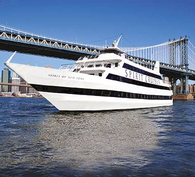 Lunch Cruise auf dem Hudson River